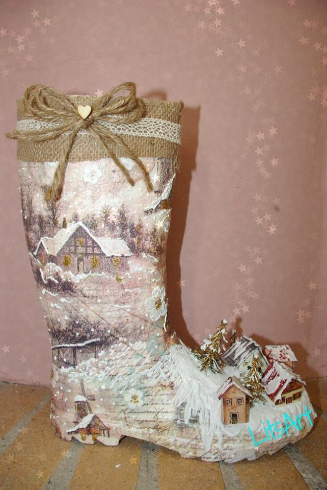 santas_boot_decoupage